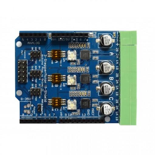 Xa stepper motor driver arduino shield v
