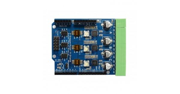 Stepper Motor Driver Arduino Shield V1 0 3xA4988