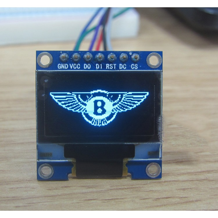 Oled Display 0 96 In 128x64 Blue Smart Prototyping