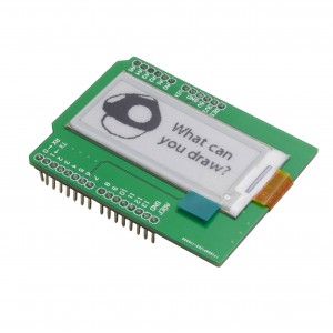 E-Ink Shield - Arduino Uno Compatible (2 in, 172x72)