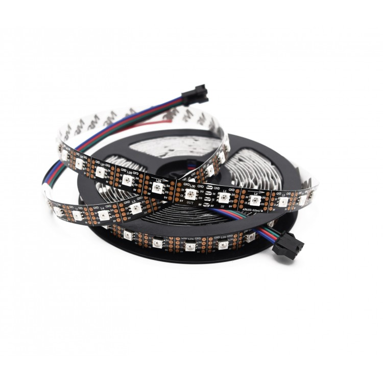 APA102C RGB LED stripe 60 LEDs per meter 5 meters