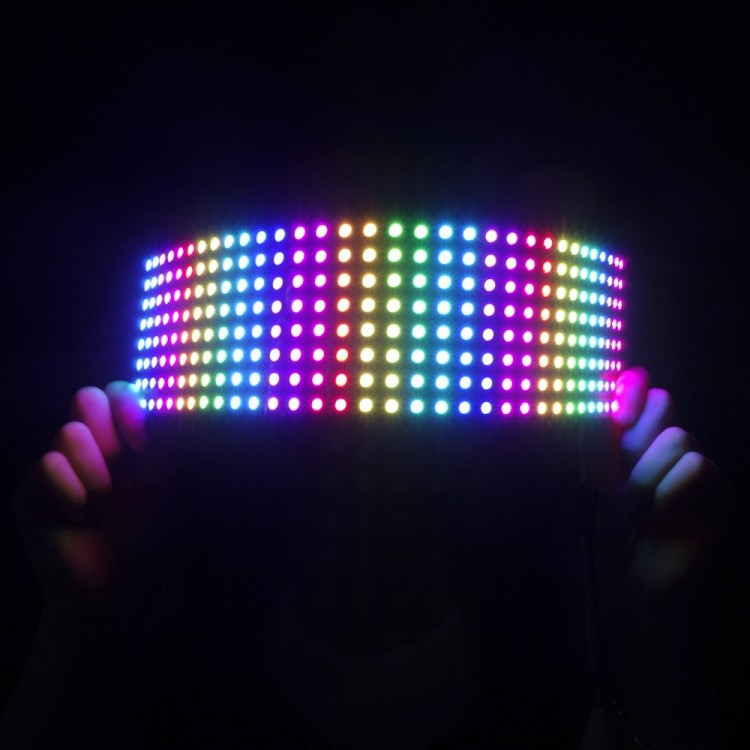 Flexible RGB LED Matrix 8x32 (WS2812B)