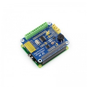 Raspberry Pi High-Precision AD/DA Expansion Board