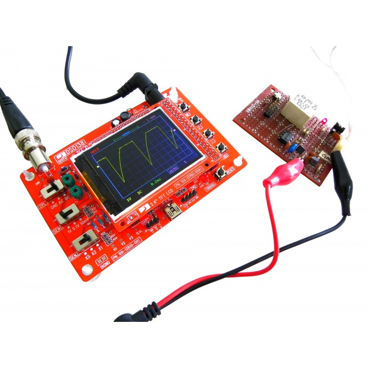 DIY Digital Oscilloscope Solder Kit DSO138