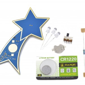 Shooting Star Solder Practice Kit