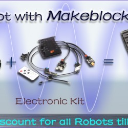 15% Discount for all Makeblock Products till October 28!