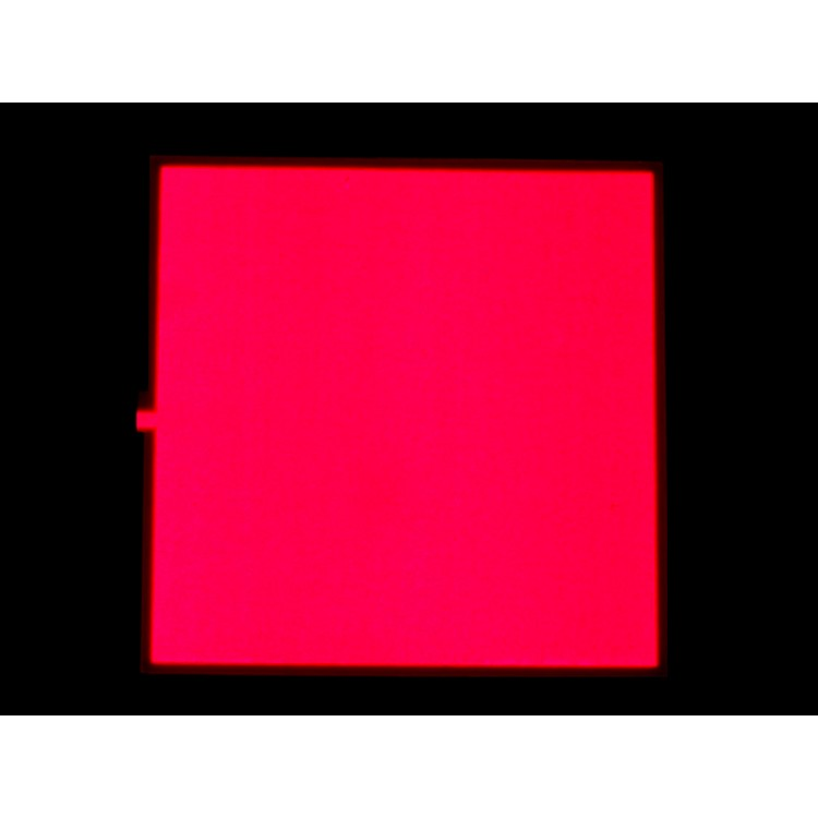 EL Panel (Light Red, 10x10cm)