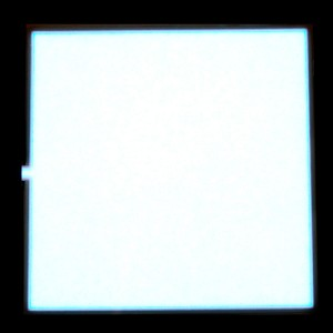 EL Panel - Light White 10cm x 10cm