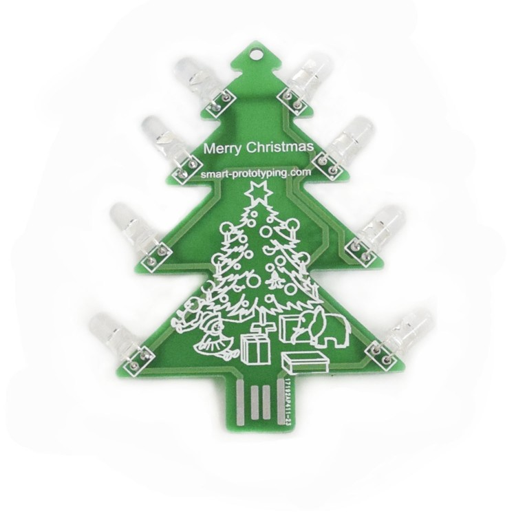 v20 colorful led christmas tree automaticlly flashing - Led Christmas Tree