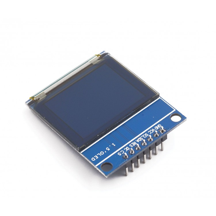 Color OLED Display (1.27 in, 128x96, SPI, 18-bit)