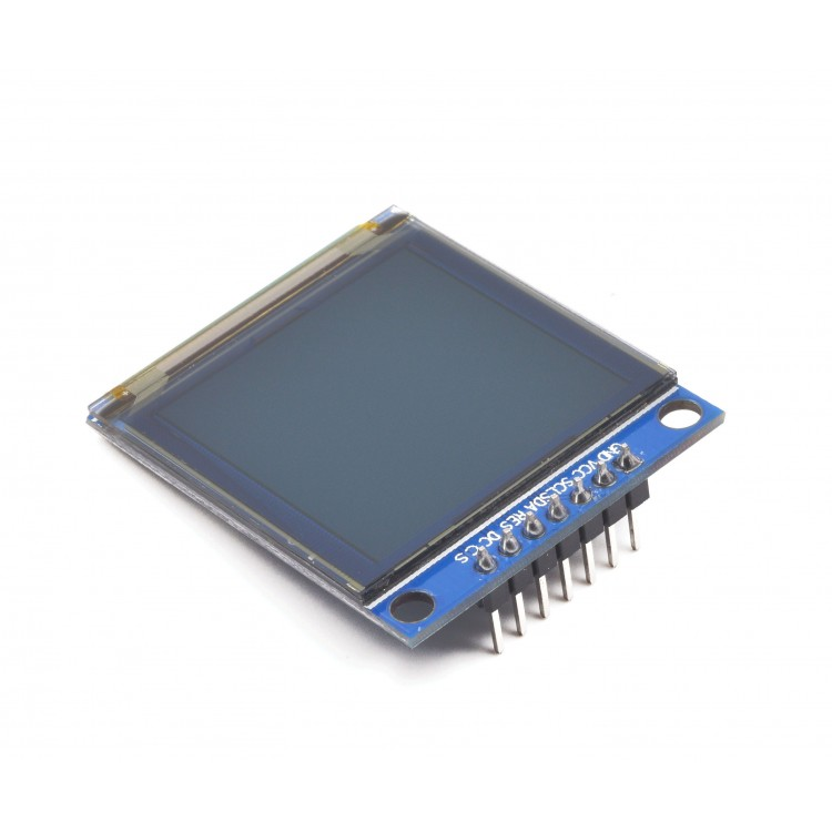 Color OLED Display (1.5 in, 128x128, SPI, 18-bit)