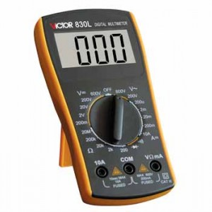 Multimeter Victor VC830L (U,I,R)