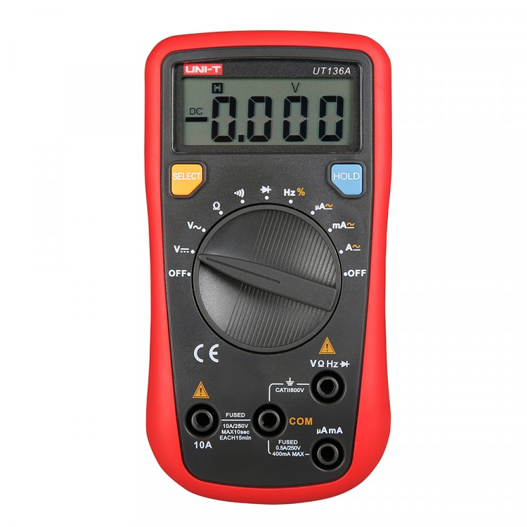 Handheld Multimeter Auto-Ranging UT136A