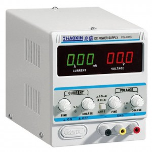 Linear DC Power Supply PS-305D (0-30V, 0-5A, 1mA Display)