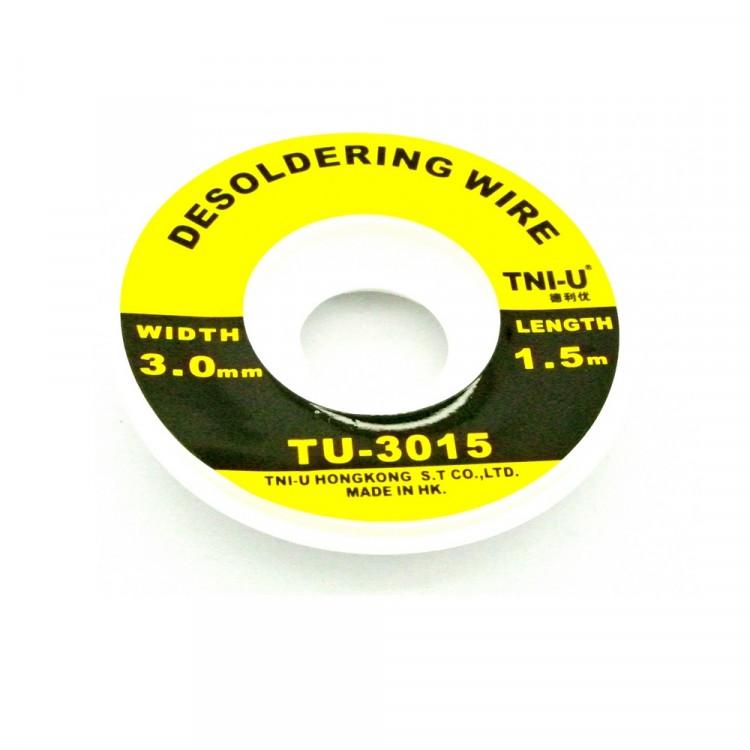 Solder Wick (1.5m x 3.0mm)