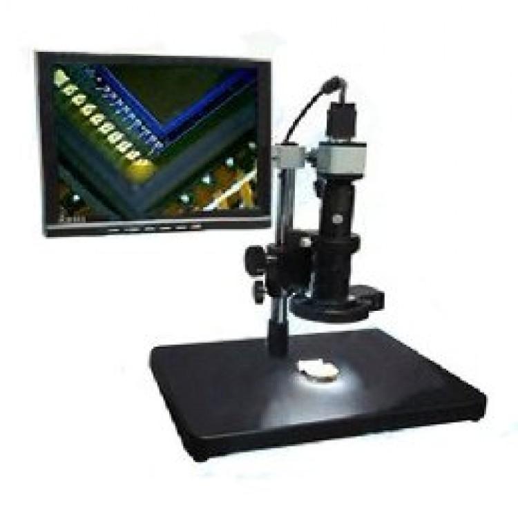 VGA Microscope with Display (2MP, 33-133x, 1024x768)