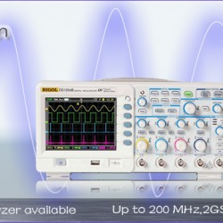 Oscilloscopes from Rigol