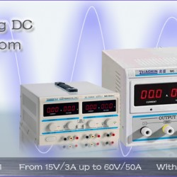 New Linear & Switching DC Power Supplies