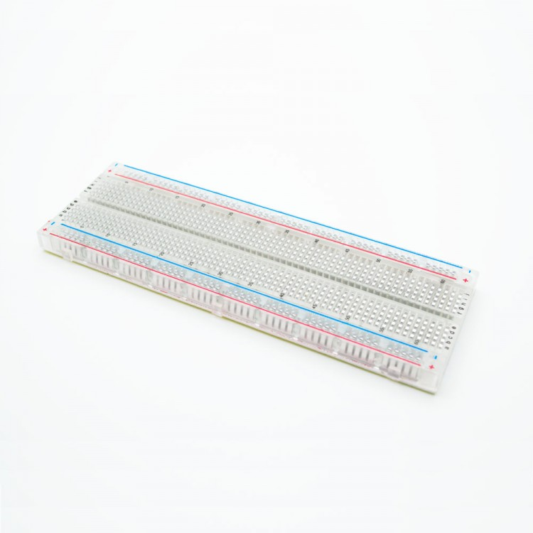 Crystal big Breadboard 830 holes 16.5x5.4cm
