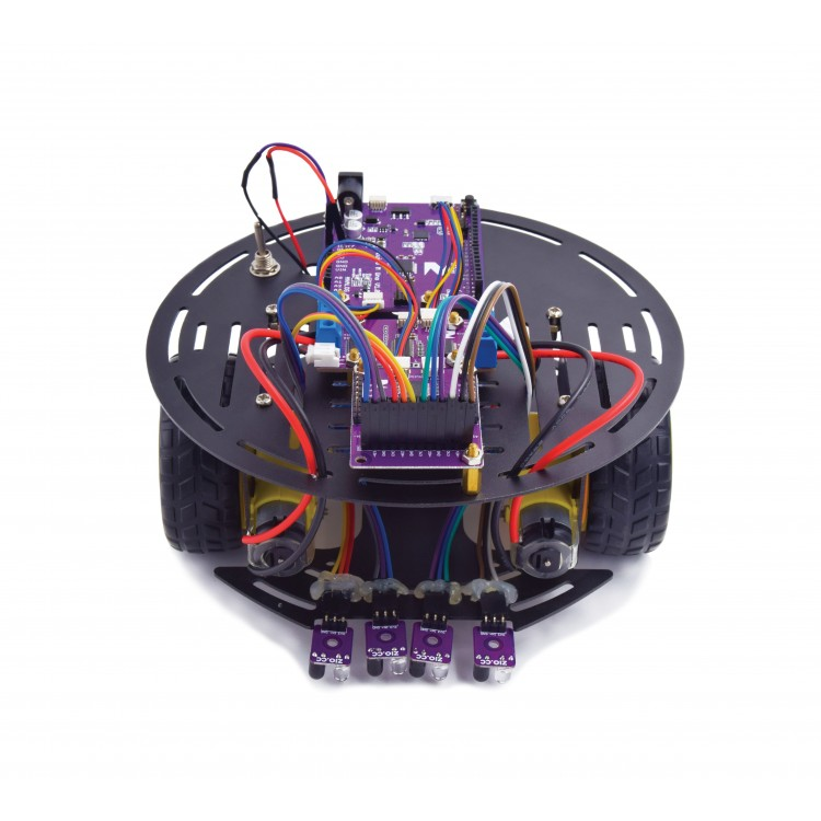 Basic Line Following Robot Kit (5v robot platform)