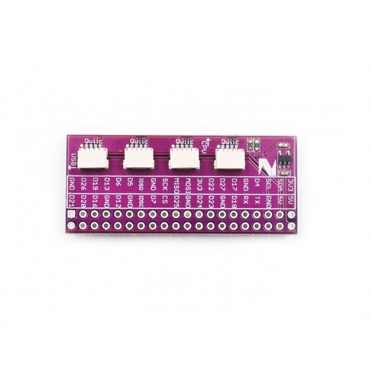 Zio Qwiic Hat for Raspberry Pi