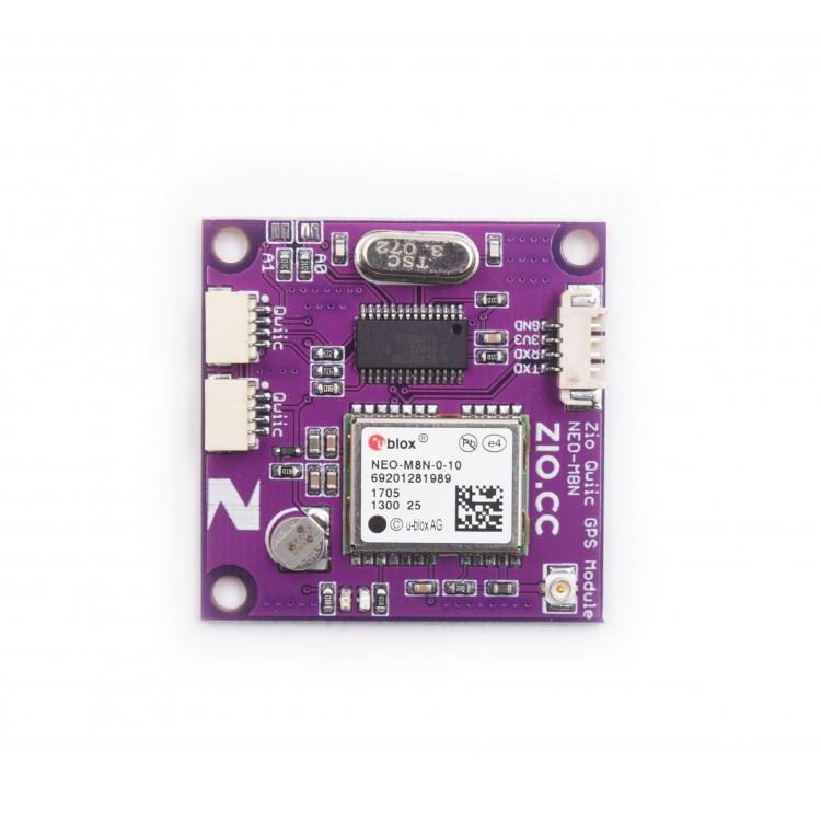 Zio Qwiic GPS Module (U-blox, NEO-M8N-0-10)