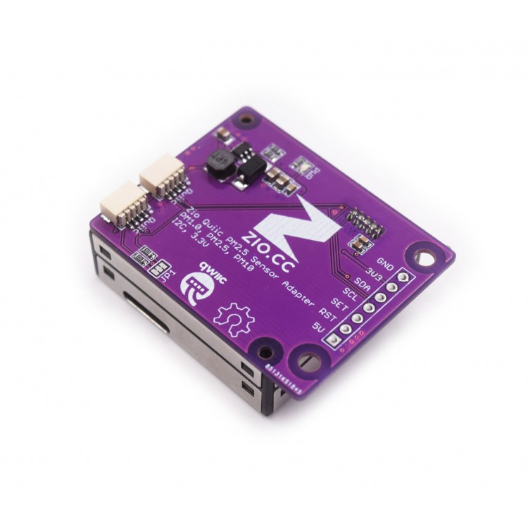 Zio Qwiic PM2.5 Air Quality Sensor + Adapter Board