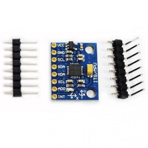 Arduino 5 Minute Tutorials: Lesson 7 - Accelerometers