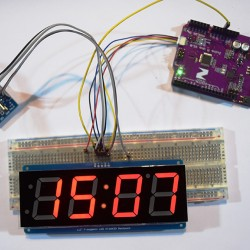 A DIY Clock with All I2C Compatible Components
