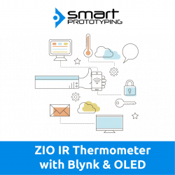ZIO IR Thermometer with Blynk and OLED