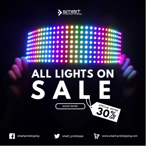 Lights ON... SALE!