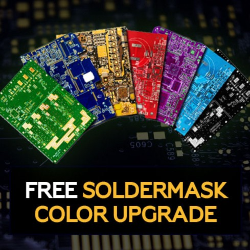 Free Soldermask Color Upgrade