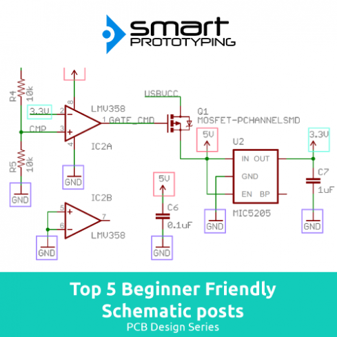 Top 5 Beginner friendly posts on PCB Schematics How To's