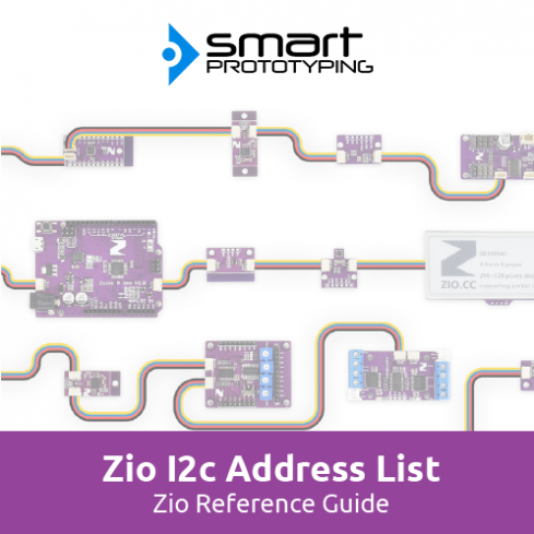 Zio Default I2C Address Guide