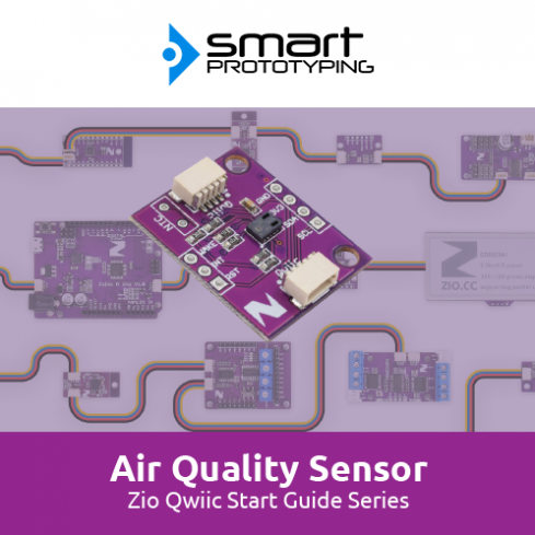Zio Air Quality Sensor Qwiic Start Guide