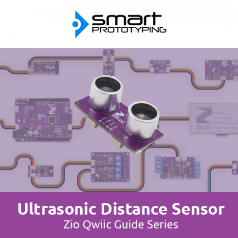 Zio Ultrasonic Distance Sensor Qwiic Start Guide