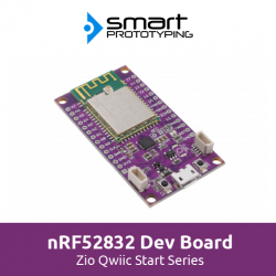 Zio nRF52832 Dev Board Qwiic Guide
