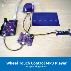 Control MP3 Player with Wheel Touch Sensor