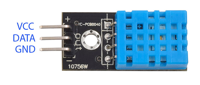 Dht11 Humidity And Temperature Sensor Module Smart