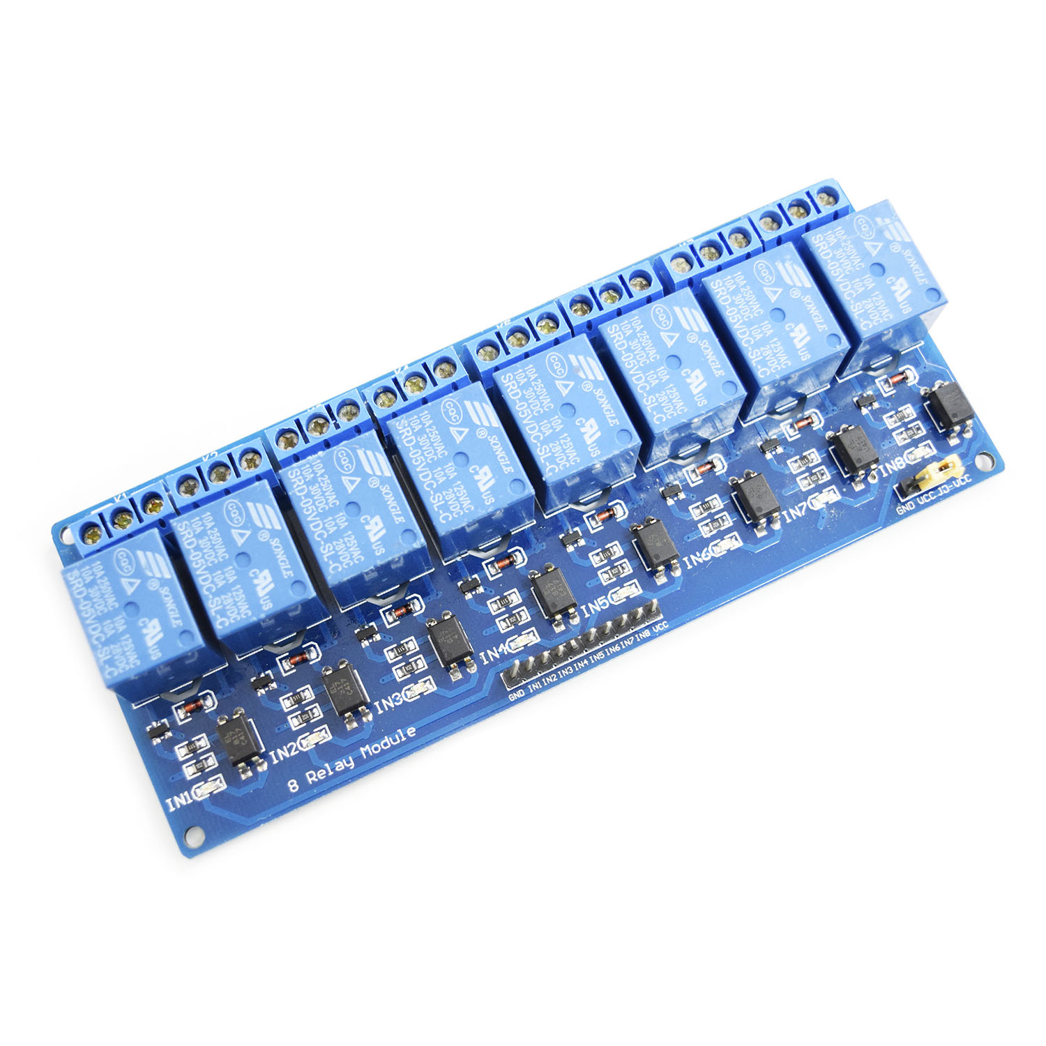 5v 8 channel relay module. Black Bedroom Furniture Sets. Home Design Ideas