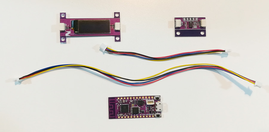 A Quick Project with PsyFi32, OLED Display, and TOF Sensor