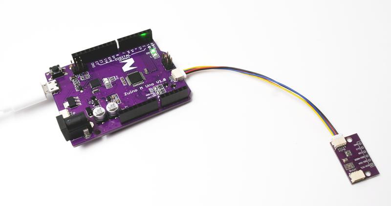 Zio Air Pressure Sensor Qwiic Start Guide